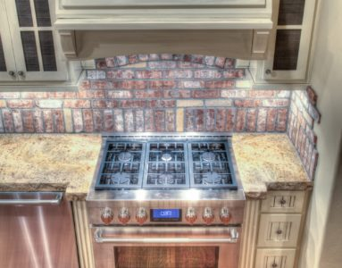 Custom cabinets means there is always room.