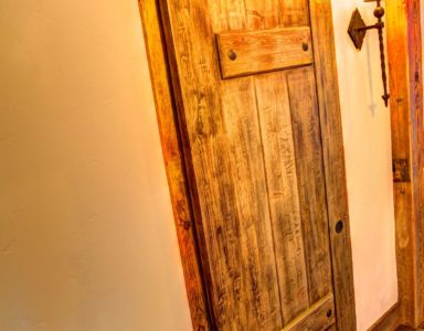 powder bath door