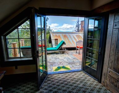 top deck french doors