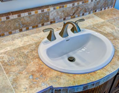 Mesa Verde upstairs bath sink